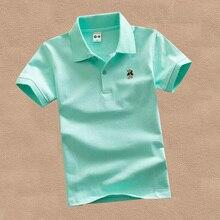 Short Sleeve Polo Shirt For Kids