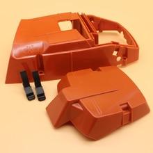Peças de reposição para motosserra, cilindro de motor e filtro de ar para husqvarna 365 362 371 372