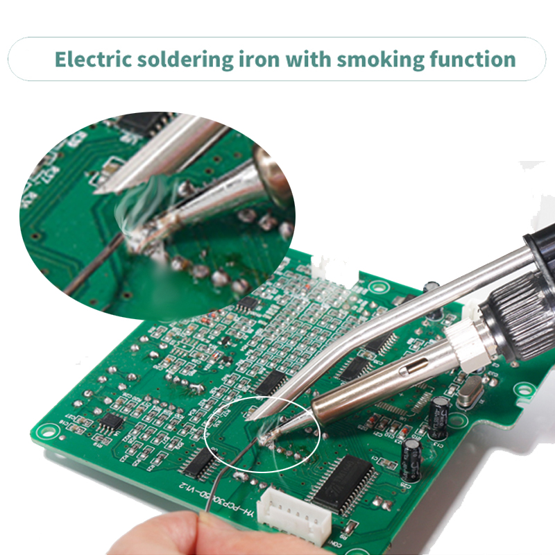 Tools : YIHUA 992DA  BGA Soldering Station Repair Board Rework Station Soldering With Hot Air gun Soldering Iron Smoke Vacuum 110V 220V