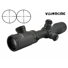 Visionking 1.5-6×42 Mil-Dot 30mm IR Polowania Lunety Celownicze Military Tactical Rifle Scope Zabytków do 223 308 30-06 AR15 AK