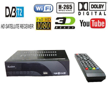 DVB-T2 DVB-T H.265 HEVC Digital HD Satellite TV Receiver Supports Dolby Youtube DVB T2 T MPEG-2 TV Tuner Box With Romote Control