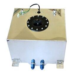 Uniwersalny 30 litrów zbiornik wyrównawczy paliwa Swirl Pot System ze stopu aluminium benzyna puszki w Zbiorniki paliwa od Samochody i motocykle na