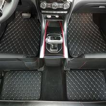 Универсальные автомобильные коврики для стайлинга автомобилей матовое покрытие подходит для всех моделей honda jade City CRV CR-V Accord Crosstour HRV HR-V Vezel Civic