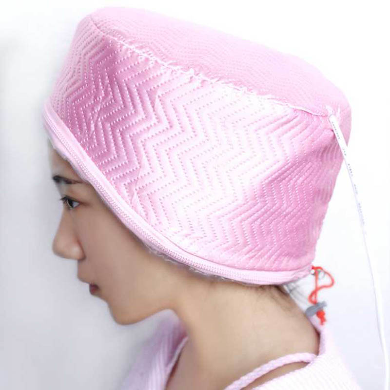 Hair film heating Cap Mask Baking Oil Cap Hair Dryers Heat Practical Security Hair Care Treatment Hair Steamer Cap Beauty Heated