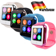 Smart Watch Heart Rate Monitor Inteligente Pulso V88 Smartwatch Bluetooth GSM/GPRS SIM TF Card Camera Wristwatch For Android