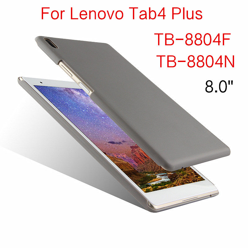 Case For Lenovo Tab 4 Tab4 Plus TB-8804F TB-8804N 8.0 Tablet Cover Protective Shell PU Leather for Lenovo TB-8804F N Back Covers phab2 plus soft silicone case cover ultraslim tablet phone case 6 44 protective stand for lenovo phab2 plus pb2 670 shell skin