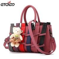 Women Bag Women Leather Bag Female Bag 2017 New Bag Female Sweet Fashion Handbags Messenger Bag