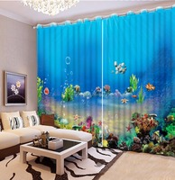 Understand World Curtains For Kid's Room 3D Bedroom Living Room Window Curtains Photo Decorative Curtain