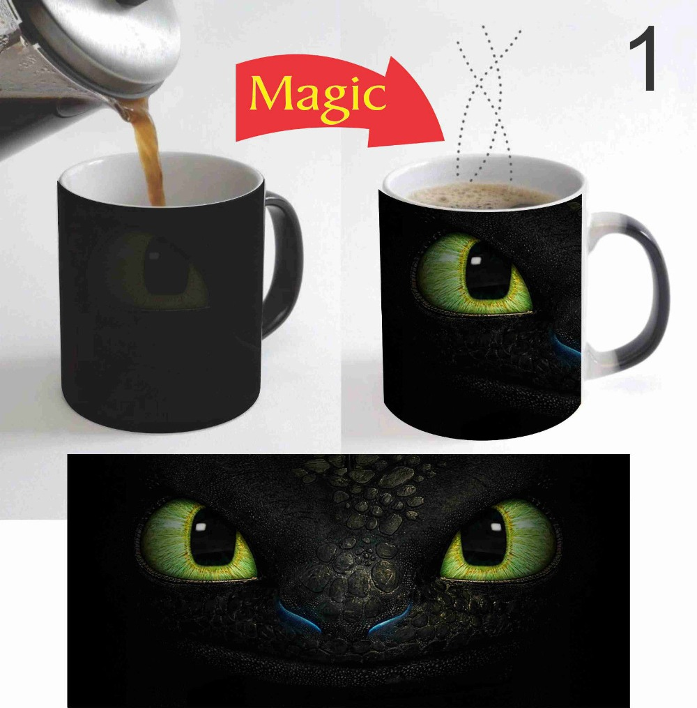 How To Train Your Dragon Mugs Heat Changing Color Coffee -4673