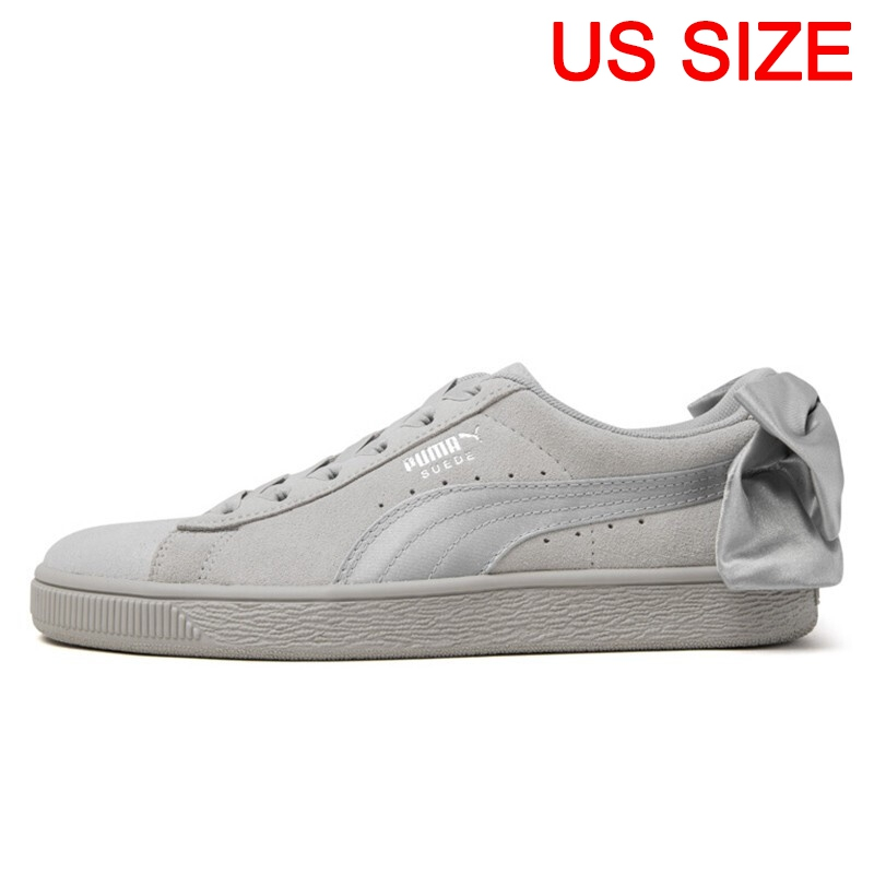 7ccc77e03c Original New Arrival 2019 PUMA Suede Bow Galaxy Women's Skateboarding Shoes  Sneakers