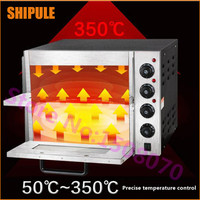 Baking equipment 20L double pizza oven commercial automatic biscuits bread cakes oven for sale