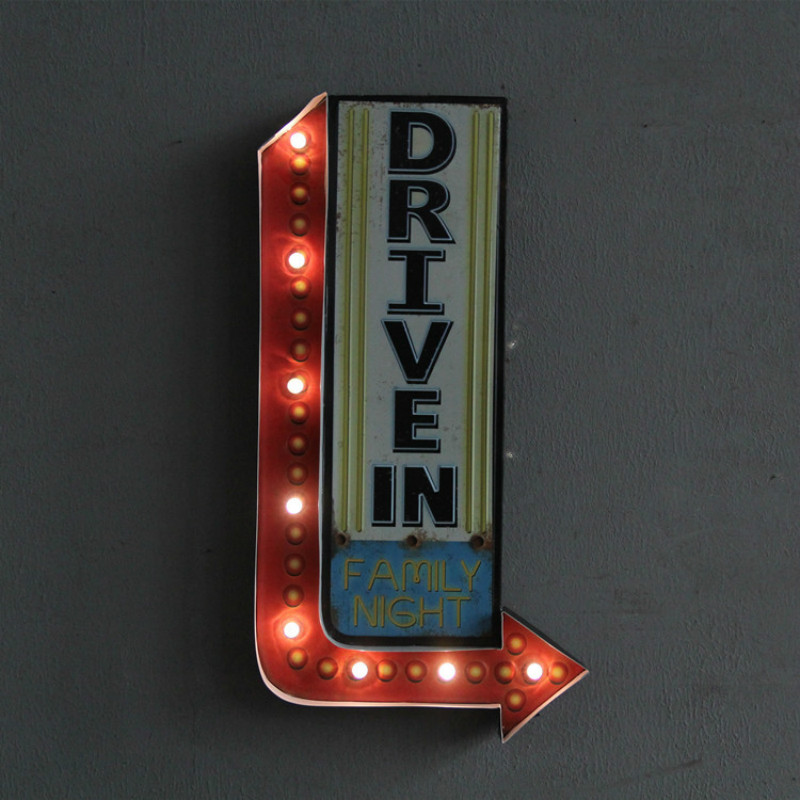 Retro LED Night Light Creative Bar Hotel Cafe Decorations Wall Hanging Lights Signs Wall Hangings Wall Hangings IY304125-35 платье розовое billieblush ут 00011545 page 8