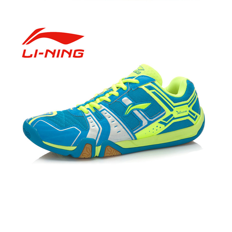 Li Ning font b Men s b font Portable Wear Resisting Badminton font b Shoes b