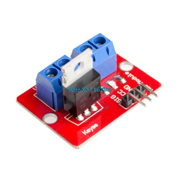 TOP MOSFET Button IRF520 MOSFET Driver Module  ARM Raspberry piTOP MOSFET Button IRF520 MOSFET Driver Module  ARM Raspberry pi