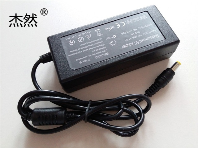 65W 19V 3.42A AC/DC Power Supply Adapter  Charger For Acer Aspire Acer Aspire 5552 5733z 5742 5750 5750z 7739z