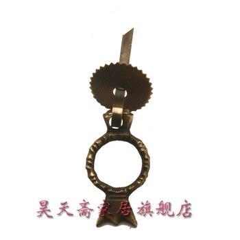 [Haotian vegetarian] antique furniture copper fittings / drawer handle / copper Handle / Chinese handle HTE-021