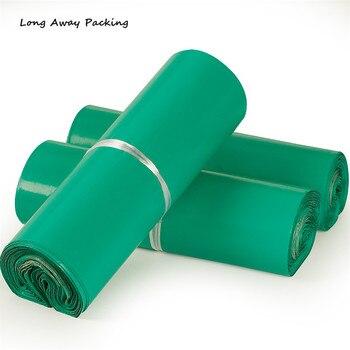 60*80cm sobre De Color verde De gran tamaño/bolsa De Correo/bolsa De correo exprés De mensajería Bolsas De correo De poliéster Bolsas De Plastico