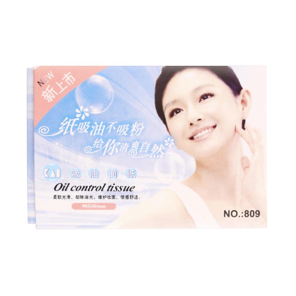 5 упак. бумага мякотью случайный масло для лица управление поглощения плёнки ткани макияж промокательной бумага бесплатная доставка