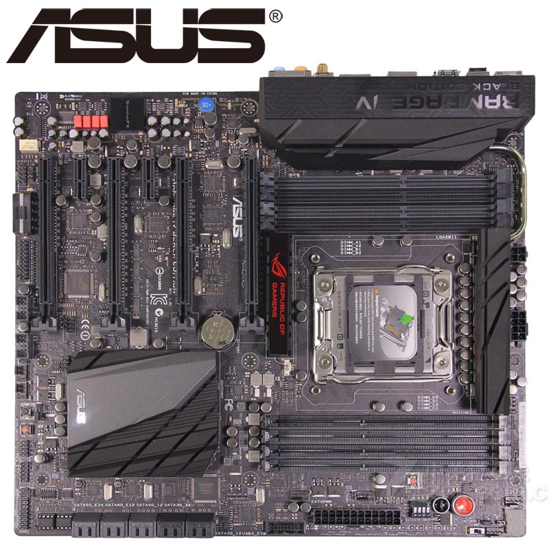 ASUS RAMPAGE IV BLACK EDITION DRIVERS (2019)