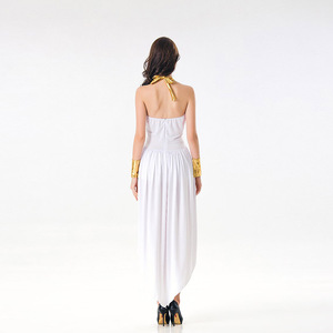 Image 5 - VASHEJIANG Ladies Greek Goddess Cosplay Roman Princess Costumes Adult Sexy Roman Goddess Costume Halloween Carnival Dress