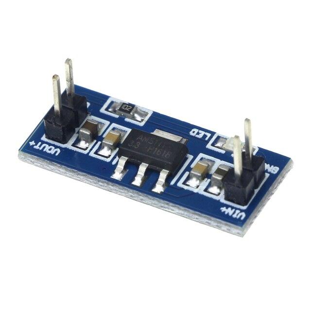 AMS1117 4.5-7 V Turn 3.3 V DC-DC Étape Vers Le Bas alimentation Module pour arduino kit de bricolage