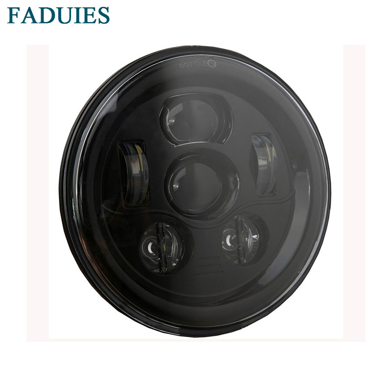 все цены на FAUDIES New 7 inch Round Motorcycle lights 7