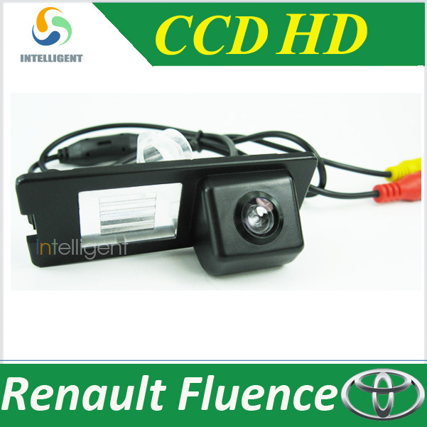 Free shipping HD CCD Car backup camera For Renault fluence night vision 170 degree angel Reversing car camera