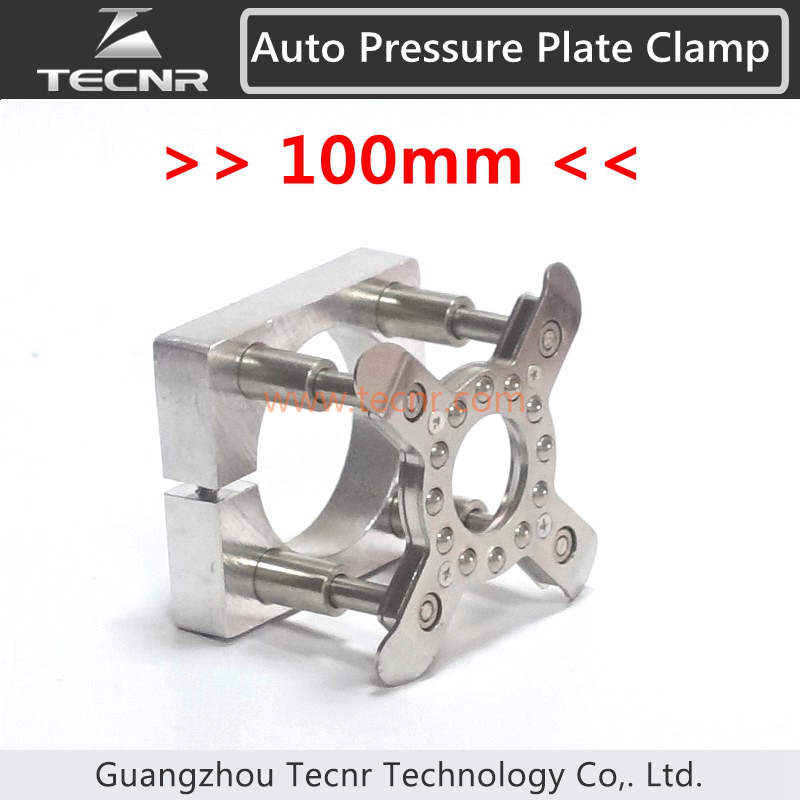 Auto Pressure Plate Clamp Diameter 100mm Auto Foot Fixture Holder Device for 3KW Woodworking engraving machine spindle купить