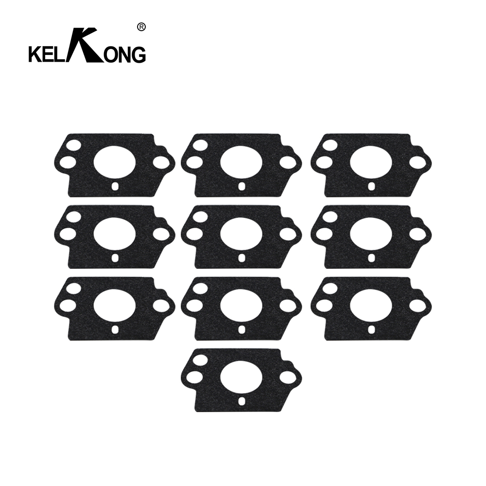 KELKONG 10pcs Carburetor Gasket Kit For HUSQVARNA 124L 125B 125BX 125L 125LD 128C 128CD 128L 128LD 128LDX 128R 128RJ 128DJX Trim-in Carburetor from Automobiles & Motorcycles
