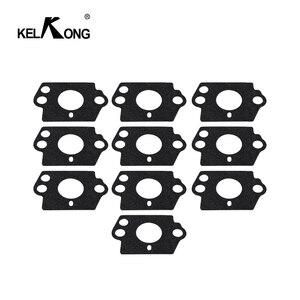 Image 1 - KELKONG 10pcs Carburetor Gasket Kit For HUSQVARNA 124L 125B 125BX 125L 125LD 128C 128CD 128L 128LD 128LDX 128R 128RJ 128DJX Trim