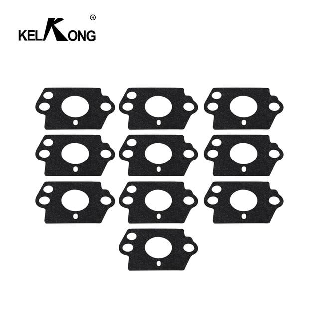 Kit guarnizioni carburatore KELKONG 10 pezzi per HUSQVARNA 124L 125B 125BX 125L 125LD 128C 128CD 128L 128LD 128LDX 128R 128RJ 128DJX Trim