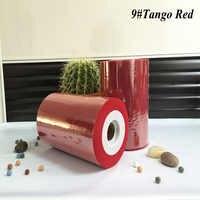 () Горячая продажа Tango красный цвет нейлон тюль катушки рулоны 100yds для украшения