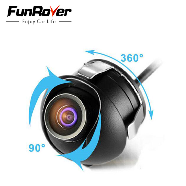 2017 New Arrival Waterproof Wide Angle Hd Ccd Normal Image Car Rear View Universal Reversing Park Camera 360 Degrees Rotation