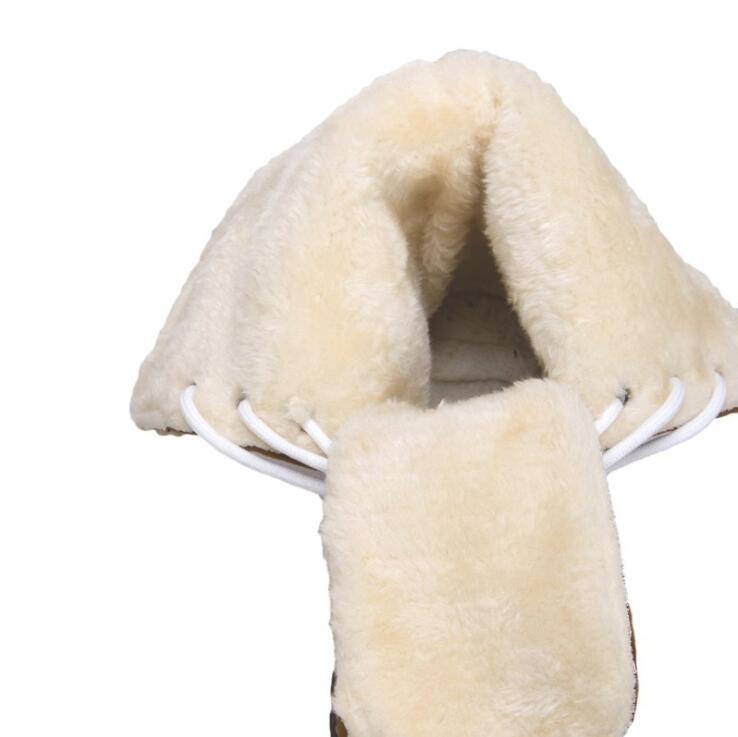 Zapatos Femmes D'hiver Chaussures Botas 3 Nouveau De Bootie 2 Casual Troupeau Chaud Vente Neige Mujer Bottes Dames Hombre 1 Court 5XqB0X