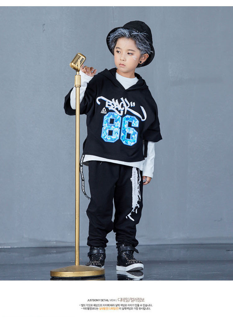 boys hip hop clothing set 1073-8