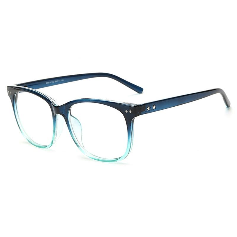 outeye vintage clear lens eye glasses frames men women transparent fake gasses round optical eyeglasses nerd