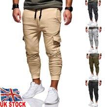 Мужские шаровары с несколькими карманами, хип-хоп брюки, уличная одежда, спортивные брюки Hombre, мужские повседневные модные брюки-карго для мужчин