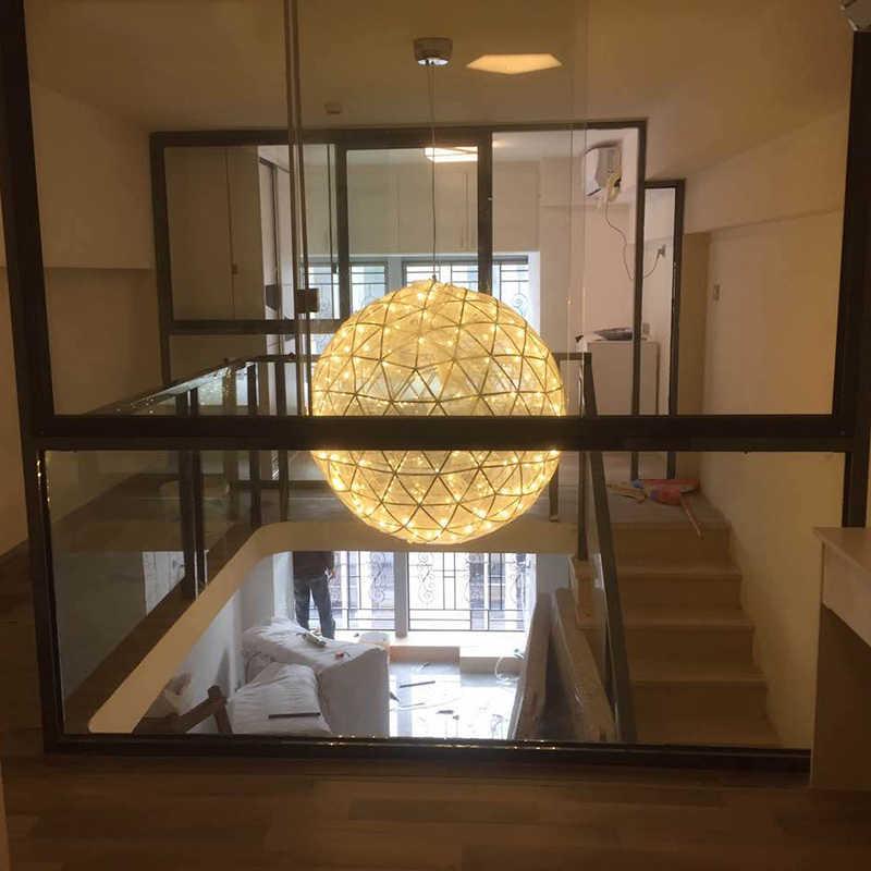 DX подвесные светильники современный подвесной светильник для столовой светодиодный подвесной светильник