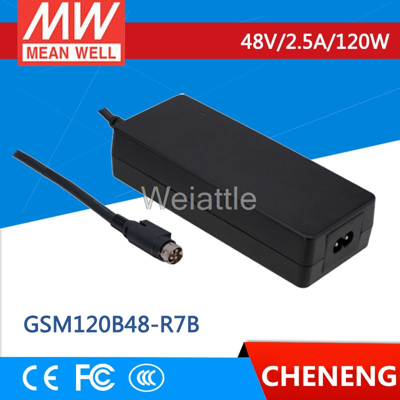 MEAN WELL original GSM120B48-R7B 48V 2.5A meanwell GSM120B 48V 120W AC-DC High Reliability Medical AdaptorMEAN WELL original GSM120B48-R7B 48V 2.5A meanwell GSM120B 48V 120W AC-DC High Reliability Medical Adaptor
