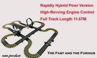 1167 см трек гоночный автомобиль игрушка DIY Собранный электрический пульт дистанционного управления Слот автомобиль гоночная игра двойной т