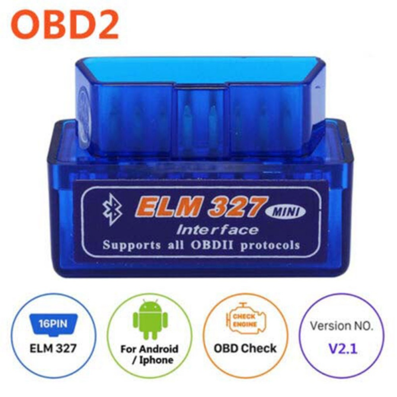 Bluetooth Scanner OBD2 V2.1 Car Diagnostic Tool ELM 327 Bluetooth For Android For OBDII Protocol OX