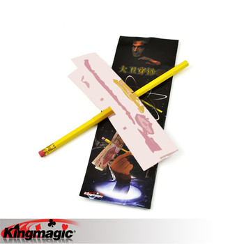 Magic Pencil By Astor Free Shipping King Magic Tricks Props Toys Email Video To You image