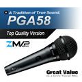 FreeShipping! PGA58 Dynamic Vocal Wired Microphone PG ALTA 58 Cardioid Handheld Karaoke Microfone Mike Mic with Switch XLR Cable