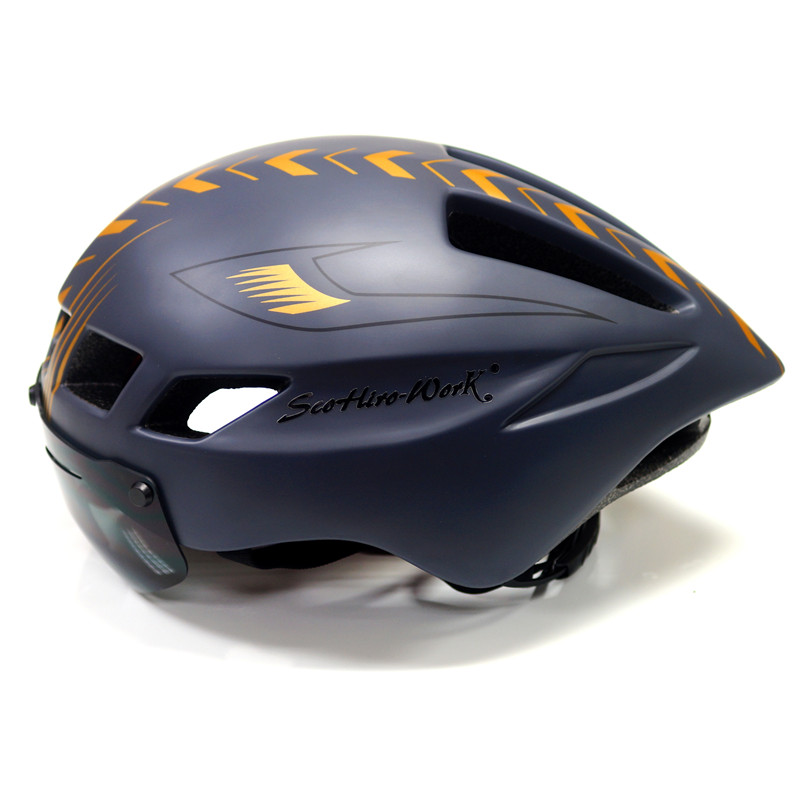 Helmet-Lens Visor Bicycle Works Scohiro Sport Glass Mountain-Road-Bike Da Bici Ciclismo