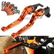 For KTM RC 390 RC390 2013-2018 2017 2016 CNC Motorcycle Brake Clutch Levers Adjustable Folding Extendable Brake Clutch Levers cnc aluminum motorbike motorcycle brake clutch levers foldable extendable for ktm rc8 rc8r rc 8 rc 8r rc 8 8r 2009 2016