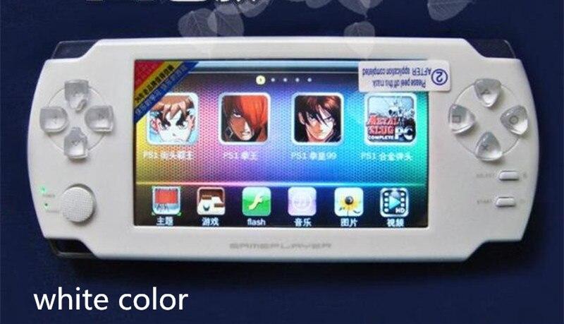 8 GB haute qualité MP4 MP5 lecteur 4.3 pouces écran tactile PMP lecteur de jeu Portable S431 vidéo FM caméra Console de jeu Portable