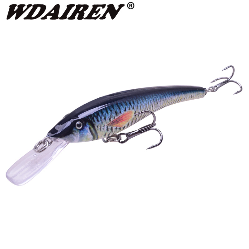 WDAIREN Crank Bait  95mm 16.5g Fishing Lures Sinking Swimbaits Bass Pike Japan Lifelike Pesca Triple Hook Isca Tackle WD-184