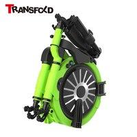Movilidad Scooter eléctrico plegable Bicicleta Eléctrica plegable Portátil Potente batería de litio de la bicicleta