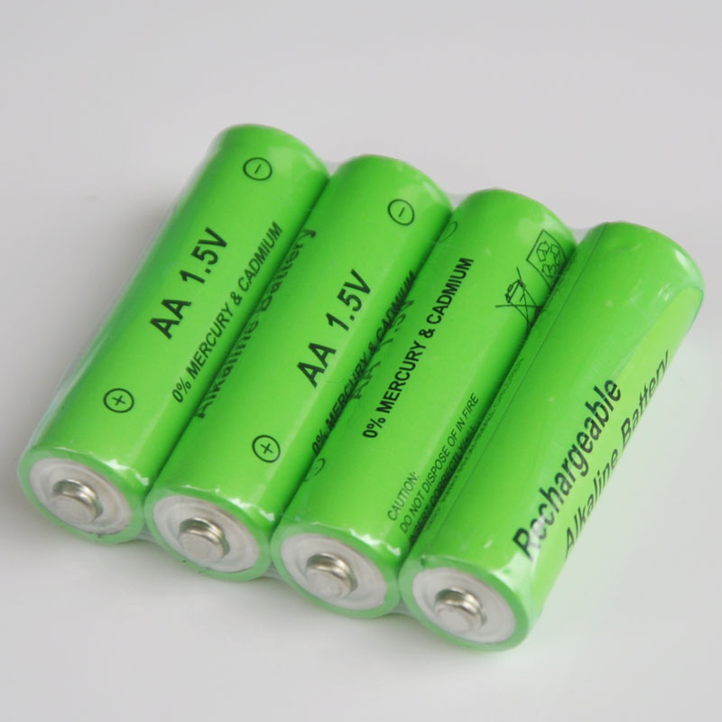 Image 4 - 20PCS 1.5V 3000mah AA Battery alkaline Rechargeable Battery for Flashlight rechargeable Battery Portable LED powerbank cr123a-in Rechargeable Batteries from Consumer Electronics