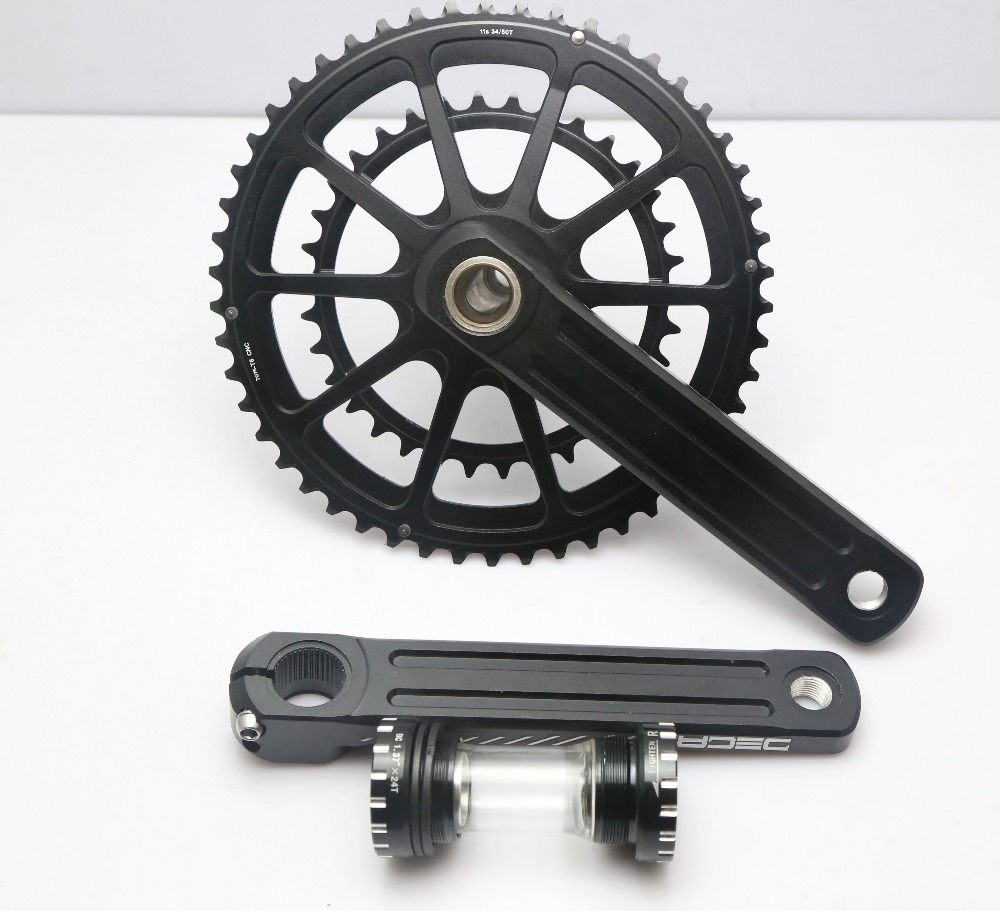 RACEWORK DECA R8000 Road Bike Crankset - 34/50